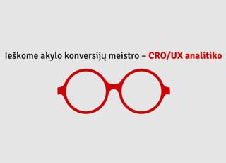 Ieškome CRO/UX specialisto (ės)